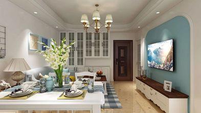 70平米公寓地中海风格客厅欣赏图