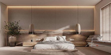 100平米日式风格卧室装修效果图