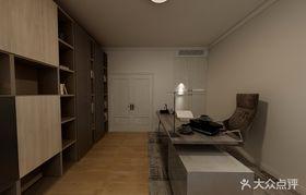110平米中式風格書房效果圖