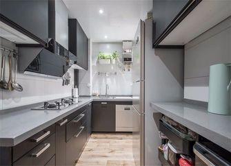 80平米三室一厅现代简约风格厨房装修图片大全