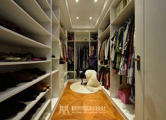 富裕型100平米三室两厅中式风格衣帽间欣赏图
