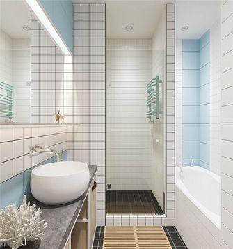50平米一室两厅日式风格卫生间欣赏图