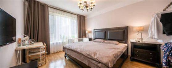 100平米公寓中式风格卧室图片大全