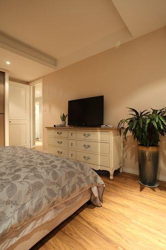 80平米一居室美式风格卧室图