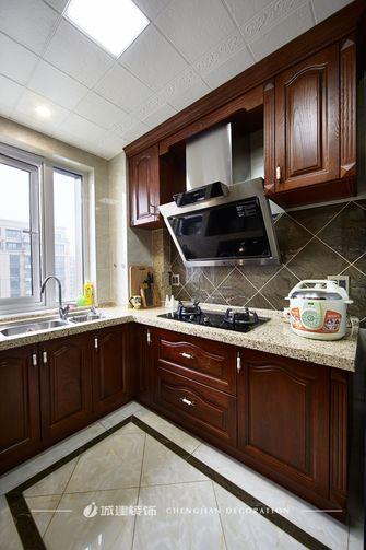 130平米三室两厅新古典风格厨房效果图