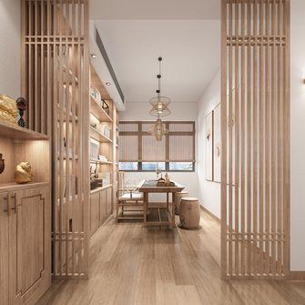 130平米三室两厅日式风格书房欣赏图