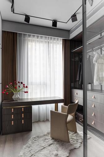 100平米三室两厅现代简约风格衣帽间设计图
