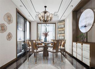 120平米三中式风格餐厅设计图
