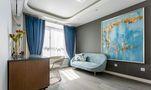 140平米三室两厅美式风格儿童房设计图