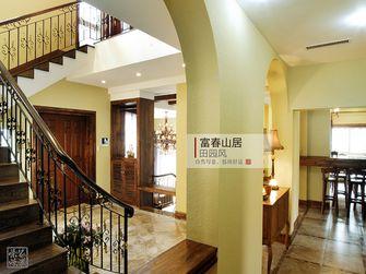 20万以上140平米别墅田园风格楼梯欣赏图