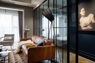 80平米一室一厅北欧风格客厅图片