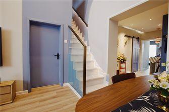130平米复式混搭风格楼梯间装修图片大全