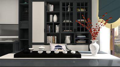 经济型110平米三室一厅新古典风格客厅装修图片大全