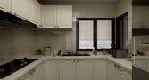 140平米三室三厅美式风格厨房图片大全