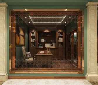 140平米四室两厅英伦风格书房装修案例