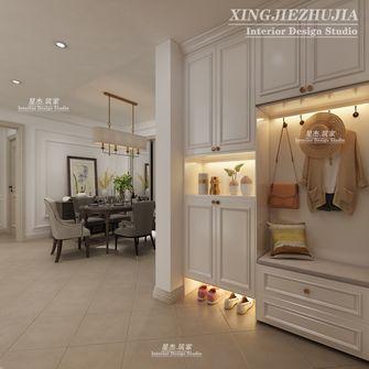 140平米四室三厅美式风格玄关欣赏图