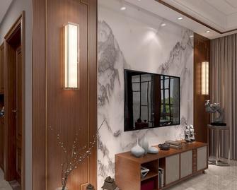 130平米四中式风格客厅设计图