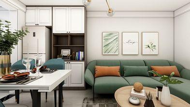 50平米宜家风格客厅装修案例