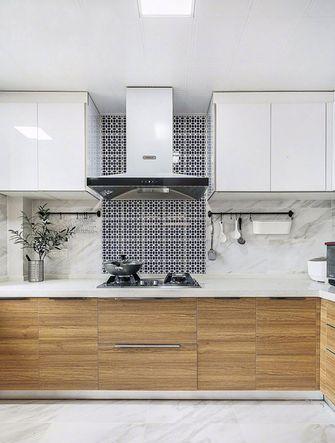 130平米三北欧风格厨房装修图片大全