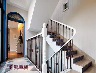 140平米复式地中海风格楼梯间设计图