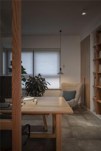 120平米四室四厅日式风格书房装修图片大全