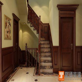 20万以上140平米别墅欧式风格楼梯装修图片大全