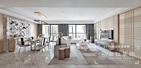 120平米复式现代简约风格客厅效果图