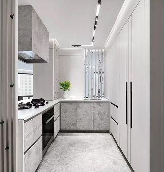 100平米三室一厅田园风格厨房装修效果图