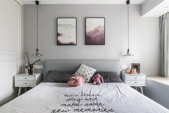 60平米北欧风格卧室装修案例