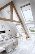 140平米复式美式风格阁楼图