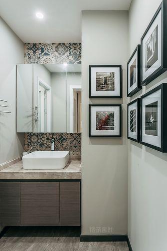 10-15万120平米三室两厅现代简约风格卫生间浴室柜装修案例