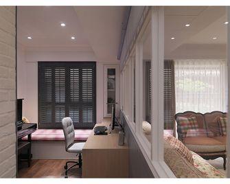 140平米四室两厅田园风格书房图
