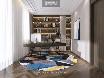 140平米四室三厅美式风格书房图