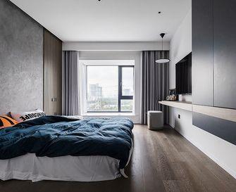 130平米三室一厅现代简约风格卧室设计图