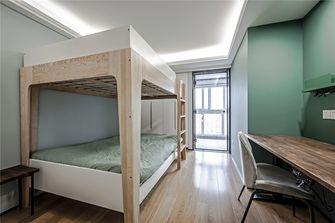 80平米复式北欧风格儿童房设计图