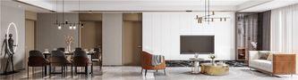 110平米三英伦风格客厅装修图片大全