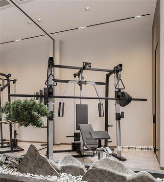 120平米四室两厅现代简约风格健身室效果图