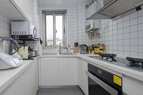 60平米现代简约风格厨房欣赏图