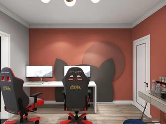90平米三现代简约风格影音室效果图