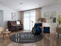 20万以上140平米四室两厅日式风格影音室设计图