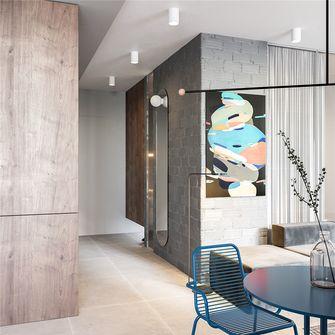 50平米公寓现代简约风格走廊图片