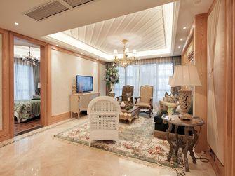 130平米三室两厅地中海风格客厅图片大全