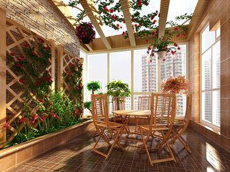 15-20万140平米四室三厅田园风格阳台装修案例