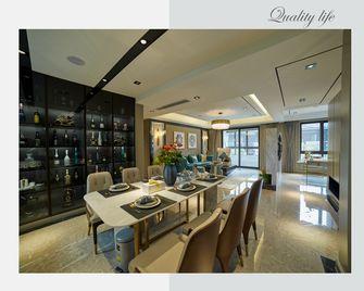 豪华型130平米四室两厅现代简约风格餐厅装修案例
