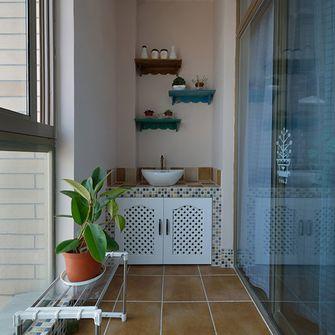 130平米三室一厅地中海风格玄关图片