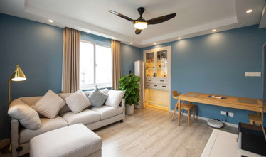 100平米三室两厅宜家风格客厅装修图片大全