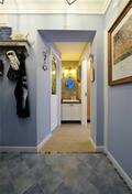 60平米公寓地中海风格走廊欣赏图