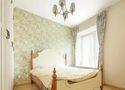 80平米田园风格卧室装修案例