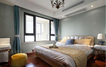 140平米三室三厅美式风格卧室设计图