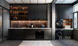 80平米三室两厅英伦风格厨房图片